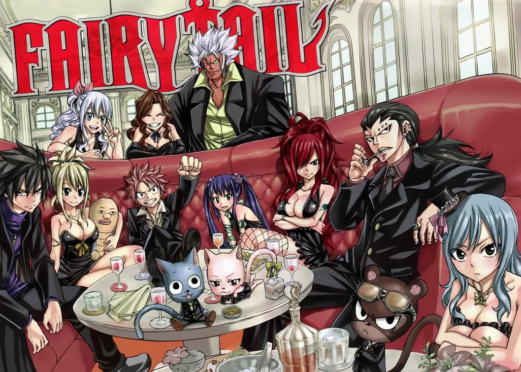 Hiro Mashima celebra fim de Fairy Tail