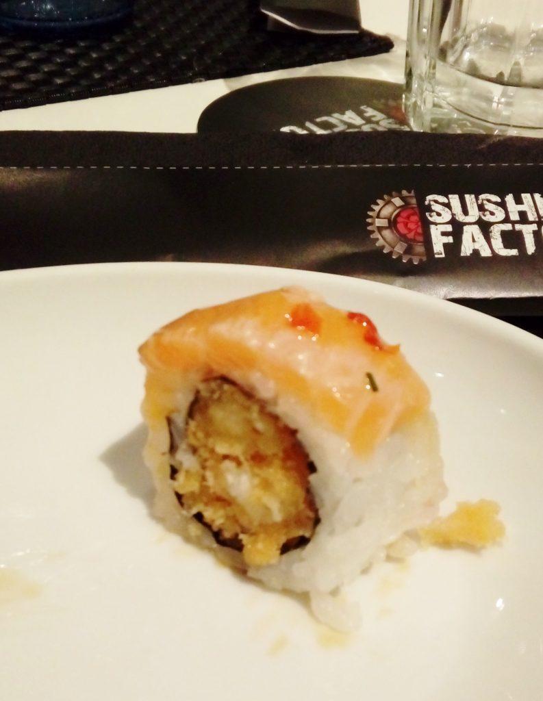 sushi factory lisboa - visita gastronómica