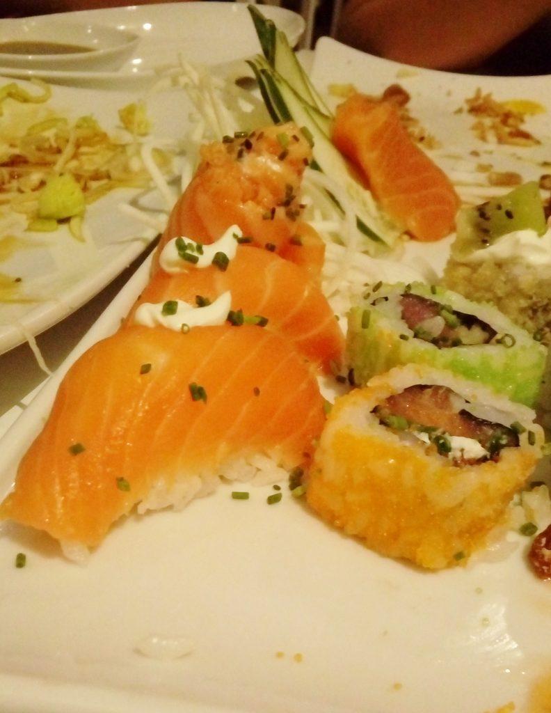 sushi factory lisboa - visita gastronómica nigiri