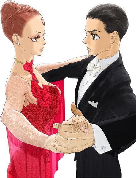 Welcome to the Ballroom - Anime antecipa Segunda Parte em Trailer | Ballroom e Youkoso - Porque teve o Capítulo 37 Menos Páginas?