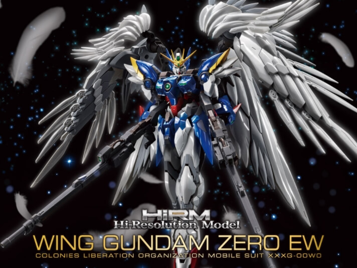 Hi-Resolution Model 1/100 Wing Gundam Zero Custom EW Ver. - Lançamento
