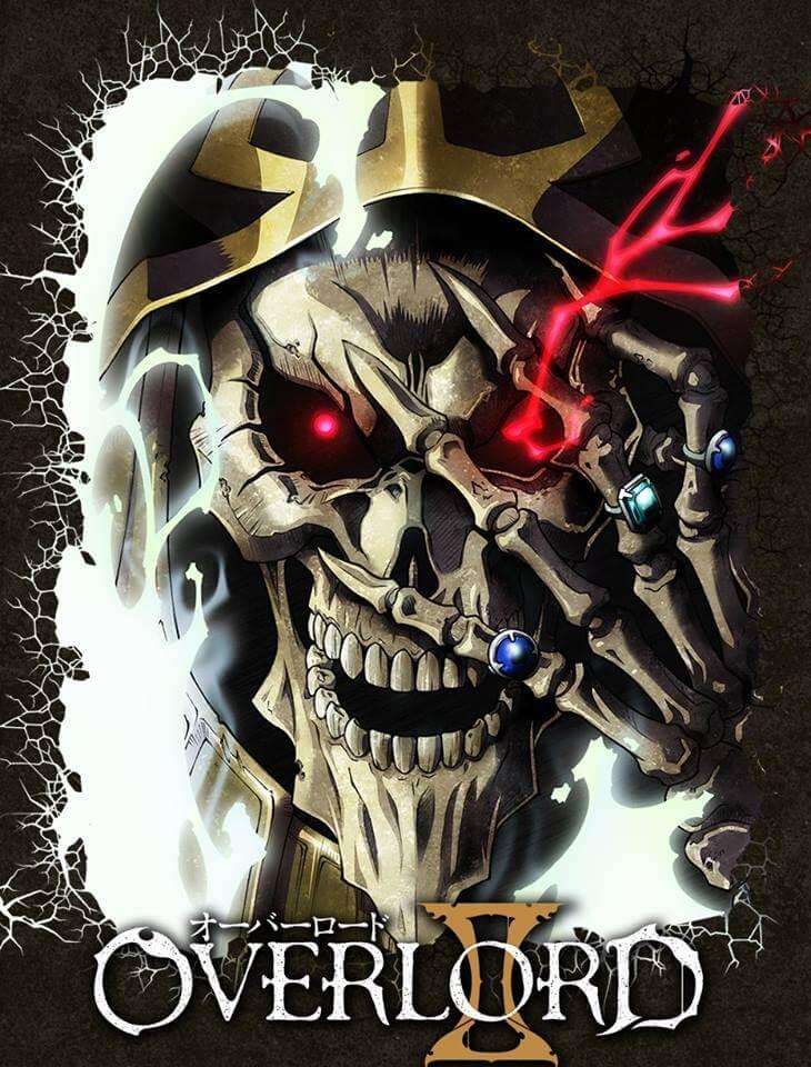 Overlord - Segunda Temporada revela Poster e Staff Principal | Overlord II revela Estreia em Novos Vídeos Promo