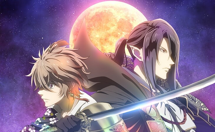 Sengoku Night Blood - Anime revela Equipa Técnica e Poster