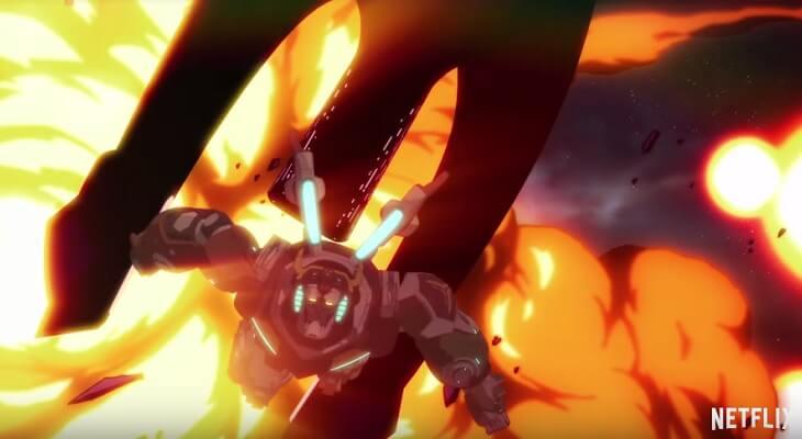 Voltron Legendary Defender Quarta Temporada revela Estreia
