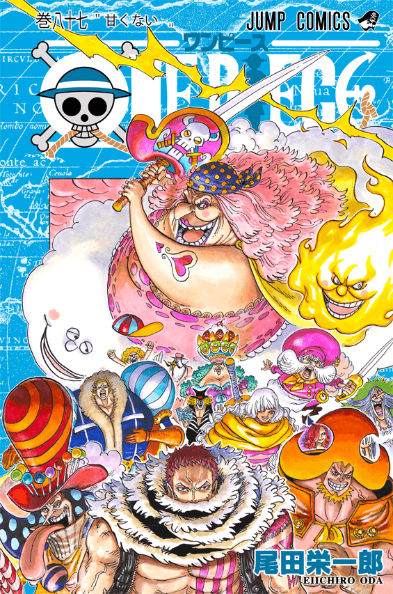 Capa Manga One Piece Volume 87