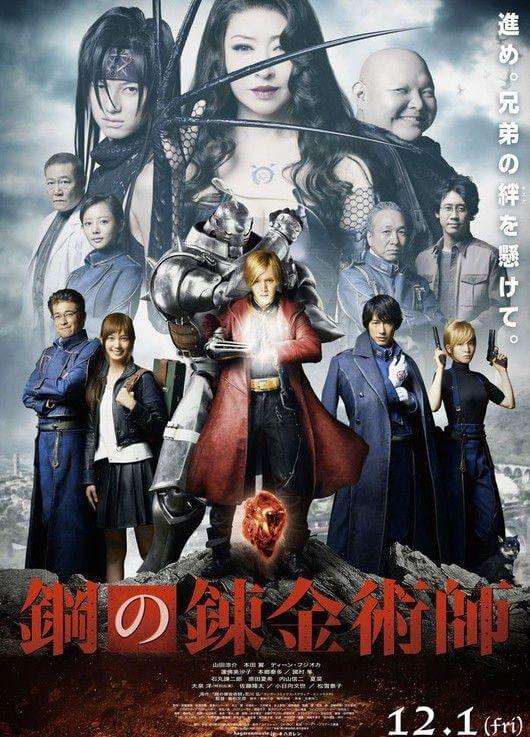 Fullmetal Alchemist Live Action apresenta Novo Trailer
