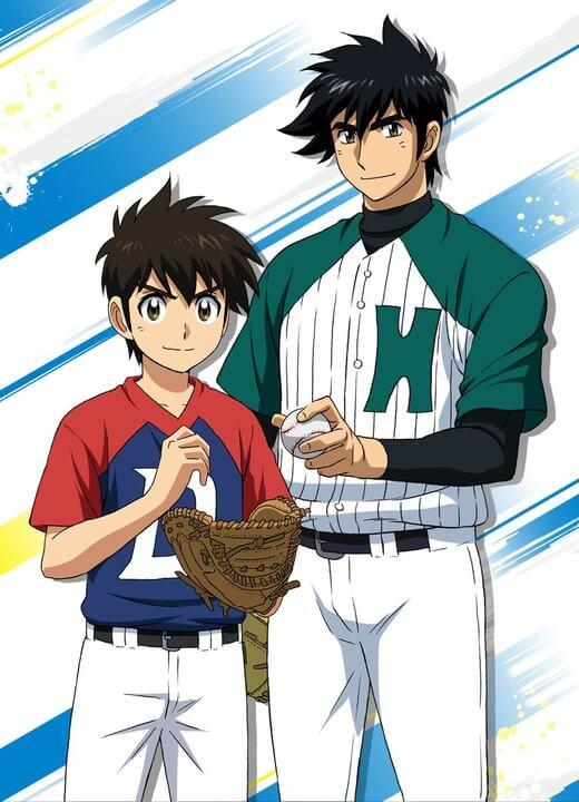 Major 2nd Manga - Anime revela Poster com Pai e Filho