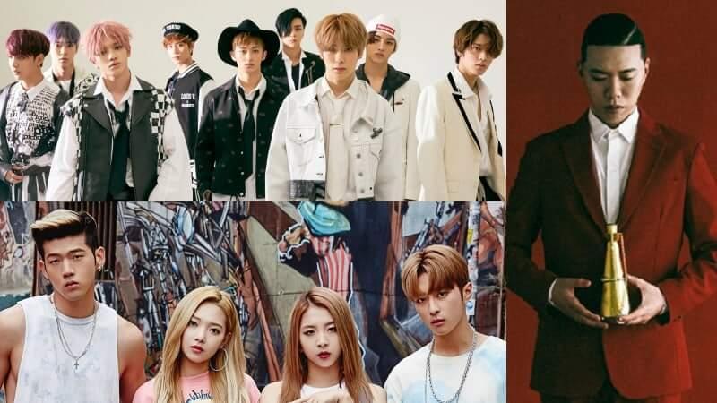 NCT 127, KARD e BewhY no 2017 Busan One Asia Festival imagem de destaque