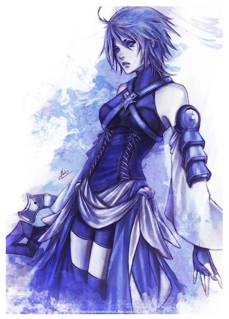 Top 10 Personagens Femininas de Videojogos - Ricardo Nogueira - Aqua Kingdom Hearts