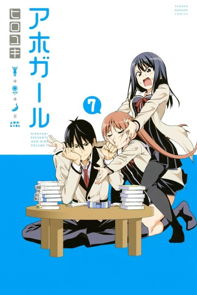 Aho-Girl Manga anuncia Fim