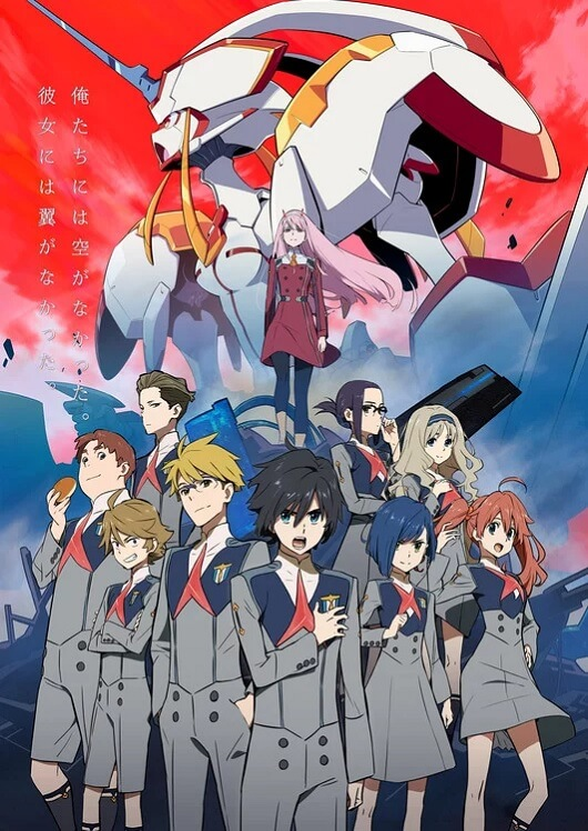 DARLING in the FRANXX - Novo Poster e História