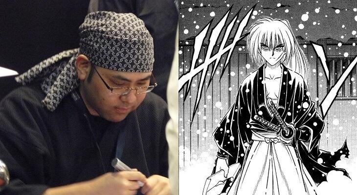 Rurouni Kenshin - Criador acusado de Posse de Pornografia Infantil