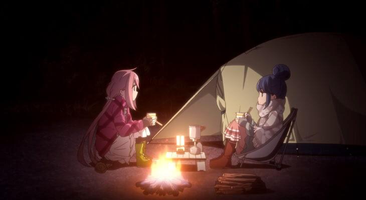 Yuru Camp - Anime revela Estreia em Trailer