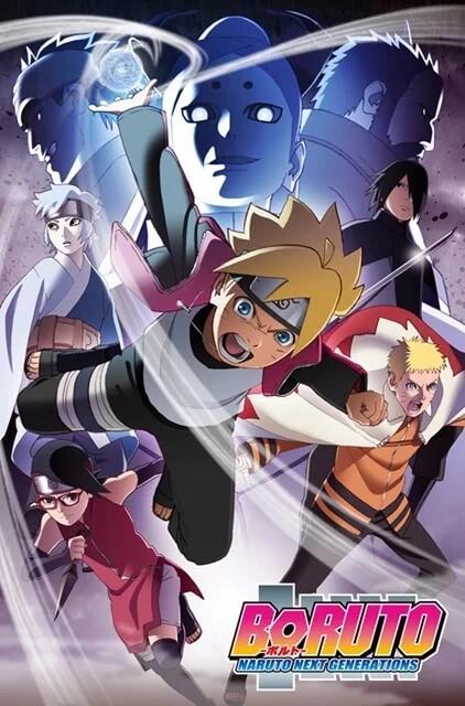 Boruto - Anime revela Novo Poster para o Chuunin Exam Arc