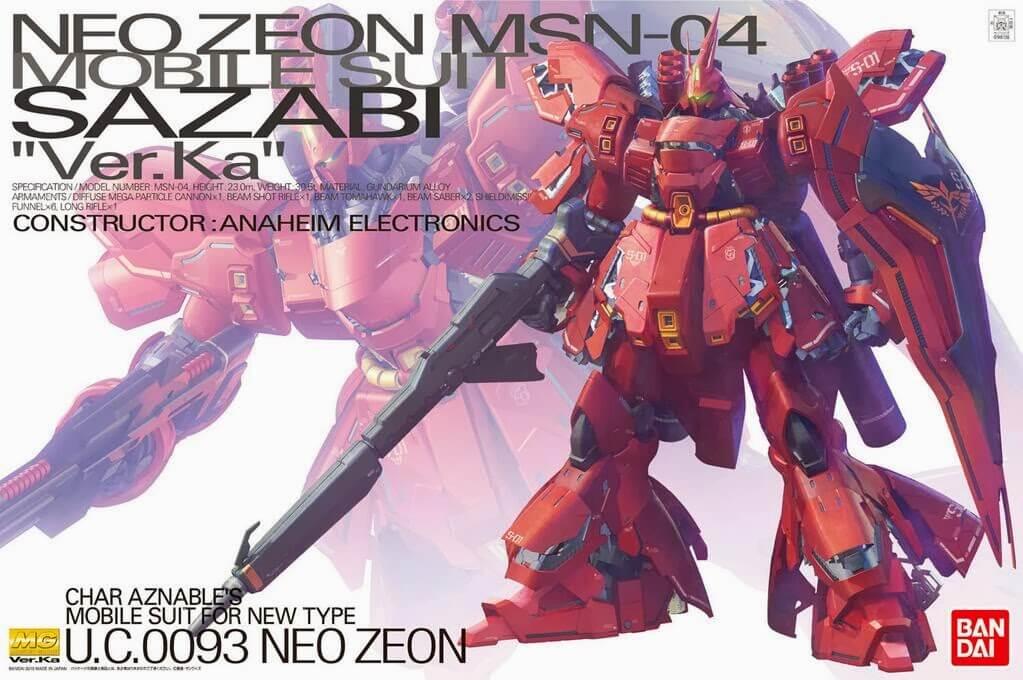 TOP 10 Mobile Suits Zeonitas / Zeon - Ricardo Silva