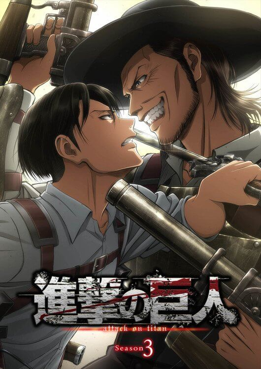 Attack on Titan Temporada 3 terá Estreia Mundial na Anime Expo