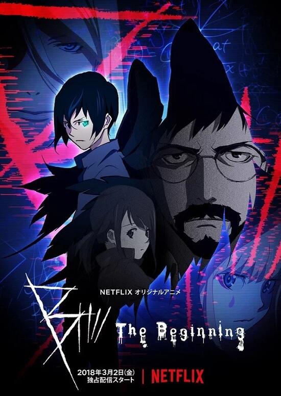 B: The Beginning - Anime revela Novo Trailer