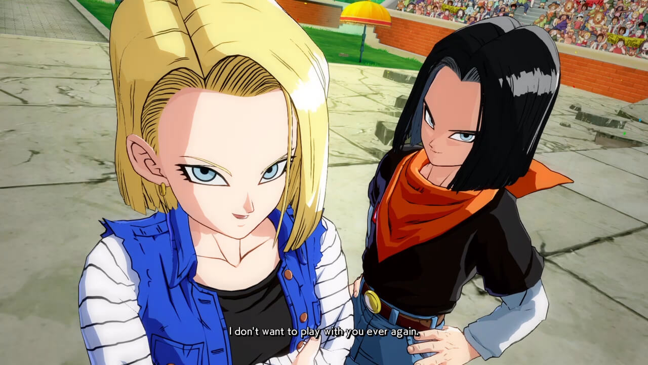 Dragon Ball FighterZ Androids