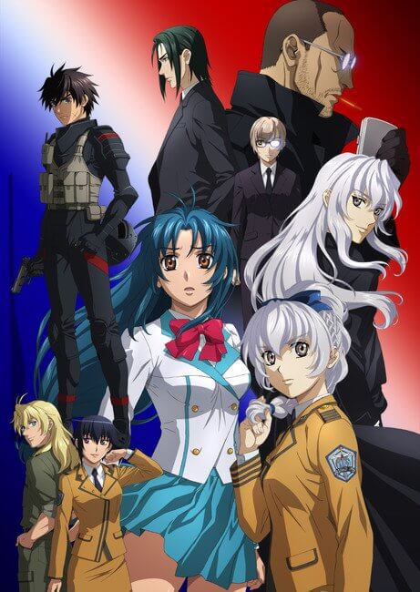 Full Metal Panic Invisible Victory - Novos Posteres Promocionais