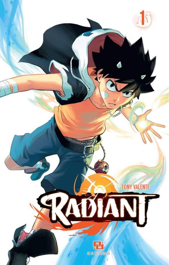 Radiant - Comic Francês vai receber Adaptação Anime