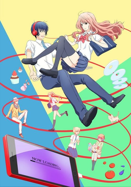 Real Girl - Anime revela Estreia e Primeiro Poster | Real Girl - Anime antevê Opening em Vídeo Promocional | 3D Kanojo: Real Girl - Anime vai receber Segunda Temporada