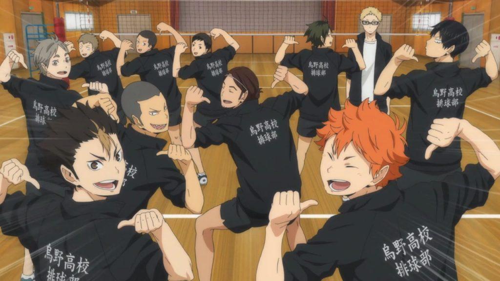 Haikyuu!! 2 - Equipa Karasuno