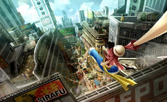 One Piece World Seeker - Vídeo revela Behind-the-Scenes