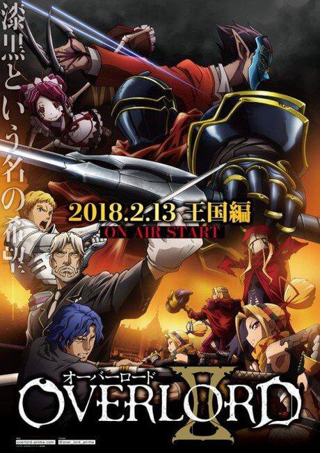 Overlord III - Anime vai receber Terceira Temporada