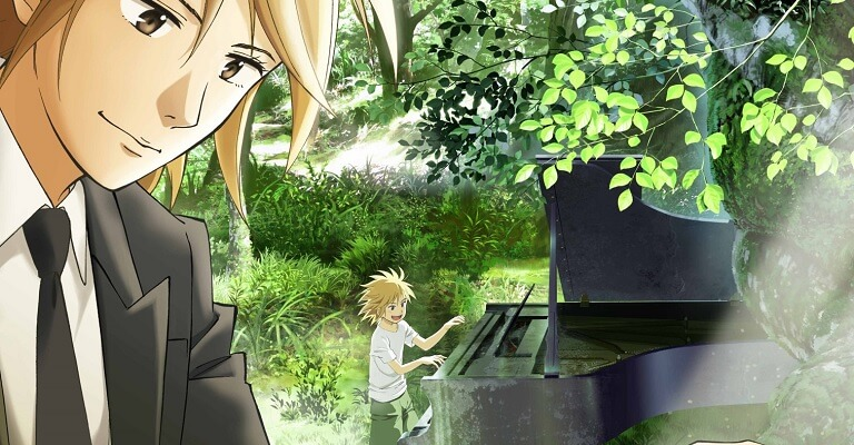 Piano no Mori - Anime revela Data de Estreia