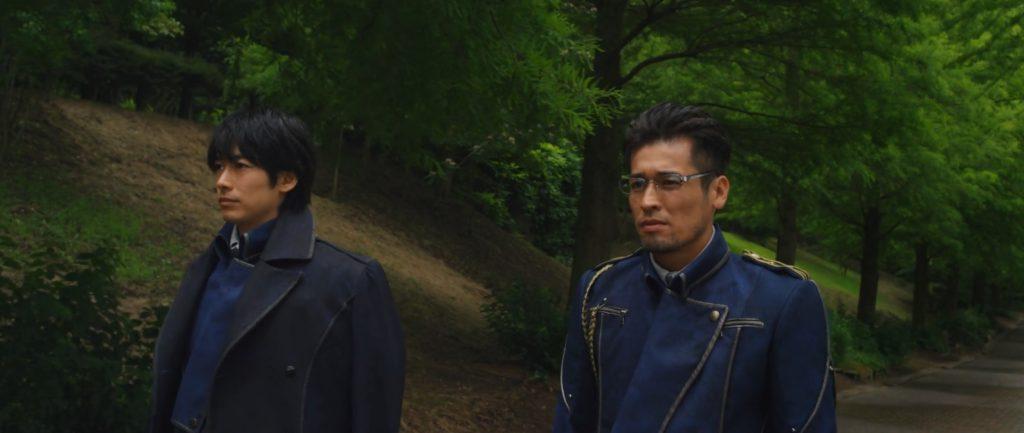 Fullmetal Alchemist Live Action - Mustang & Hughes