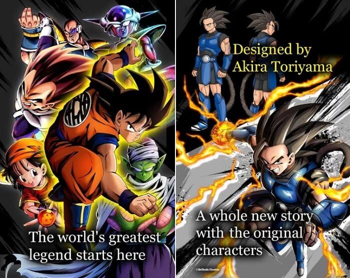 Dragon Ball Legends- Novo Jogo para Smartphone