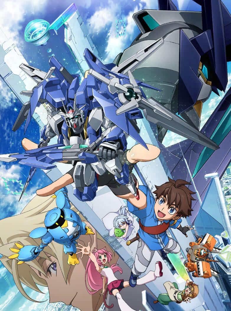 Sunrise revela novo anime Gundam Build Fighters