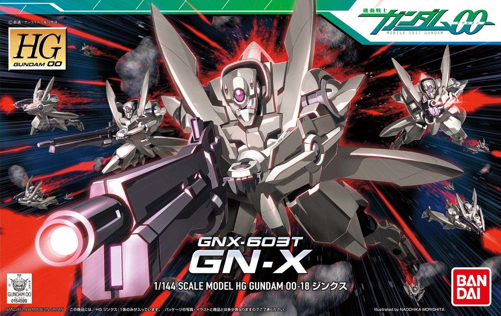 HGBF 1/144 Striker GN-X - Lançamento