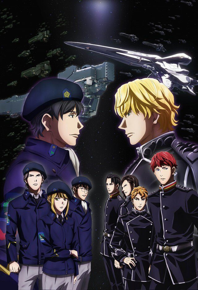 Legend of the Galactic Heroes Anime - Novas Imagens Promocionais | Novo Legend of the Galactic Heroes revela Segundo Vídeo Promo