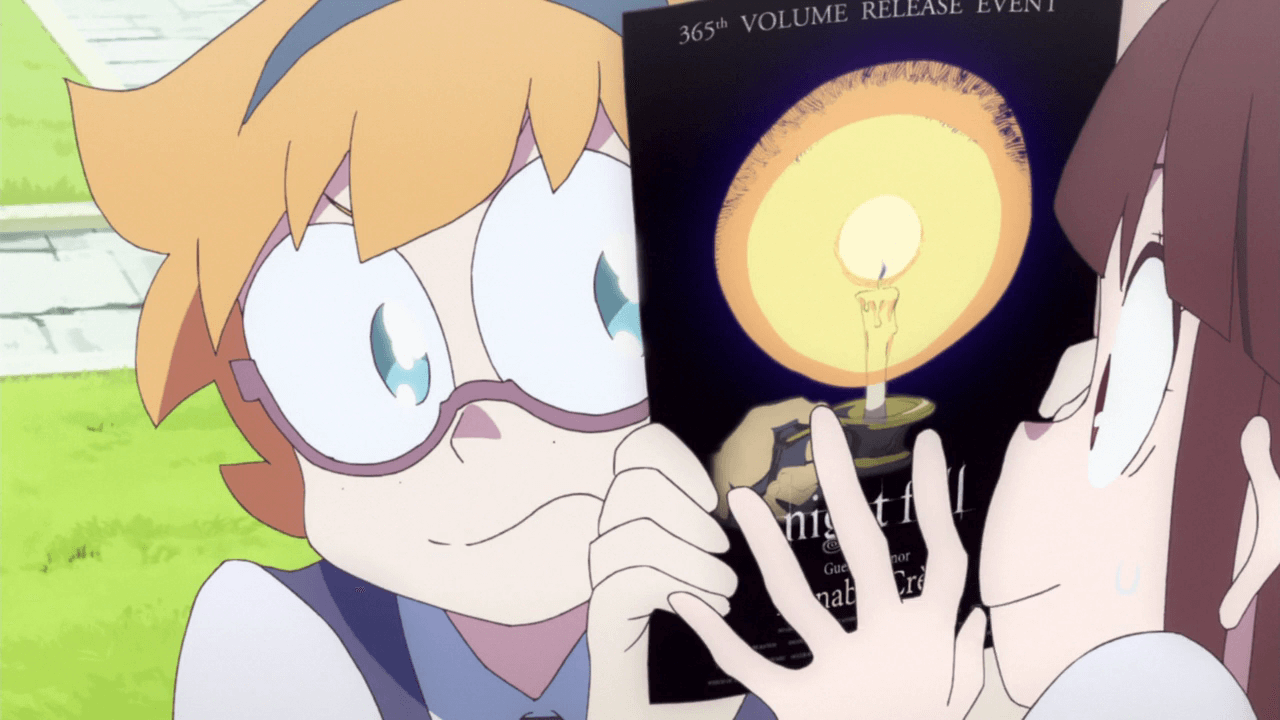 Little Witch Academia - O Poder da Magia Feminina