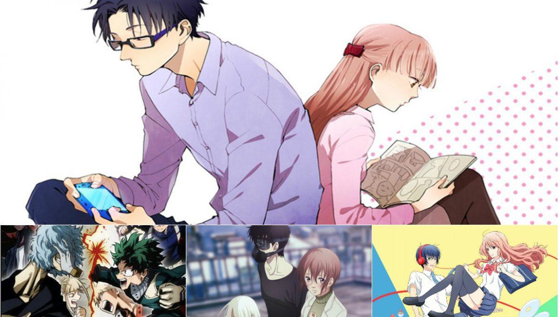 Recomendações Anime Primavera 2018 - Adaptações Manga