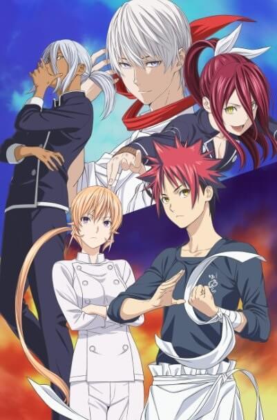 Shokugeki no Soma Temporada 3 Segundo Cour - Anúncio e Poster   Shokugeki no Soma Temporada 3 Segundo Cour - Vídeo Promo