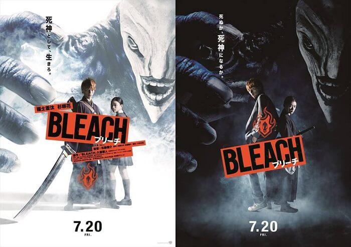 Bleach - Filme Live Action revela Novo Trailer e Posters
