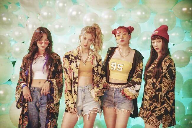 Kpop - 9 Grupos cujos Contratos Expiram em 2019 - EXID