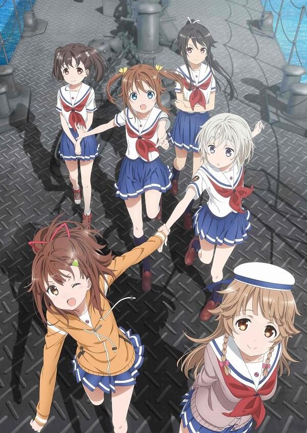High School Fleet anuncia Novo Filme Anime