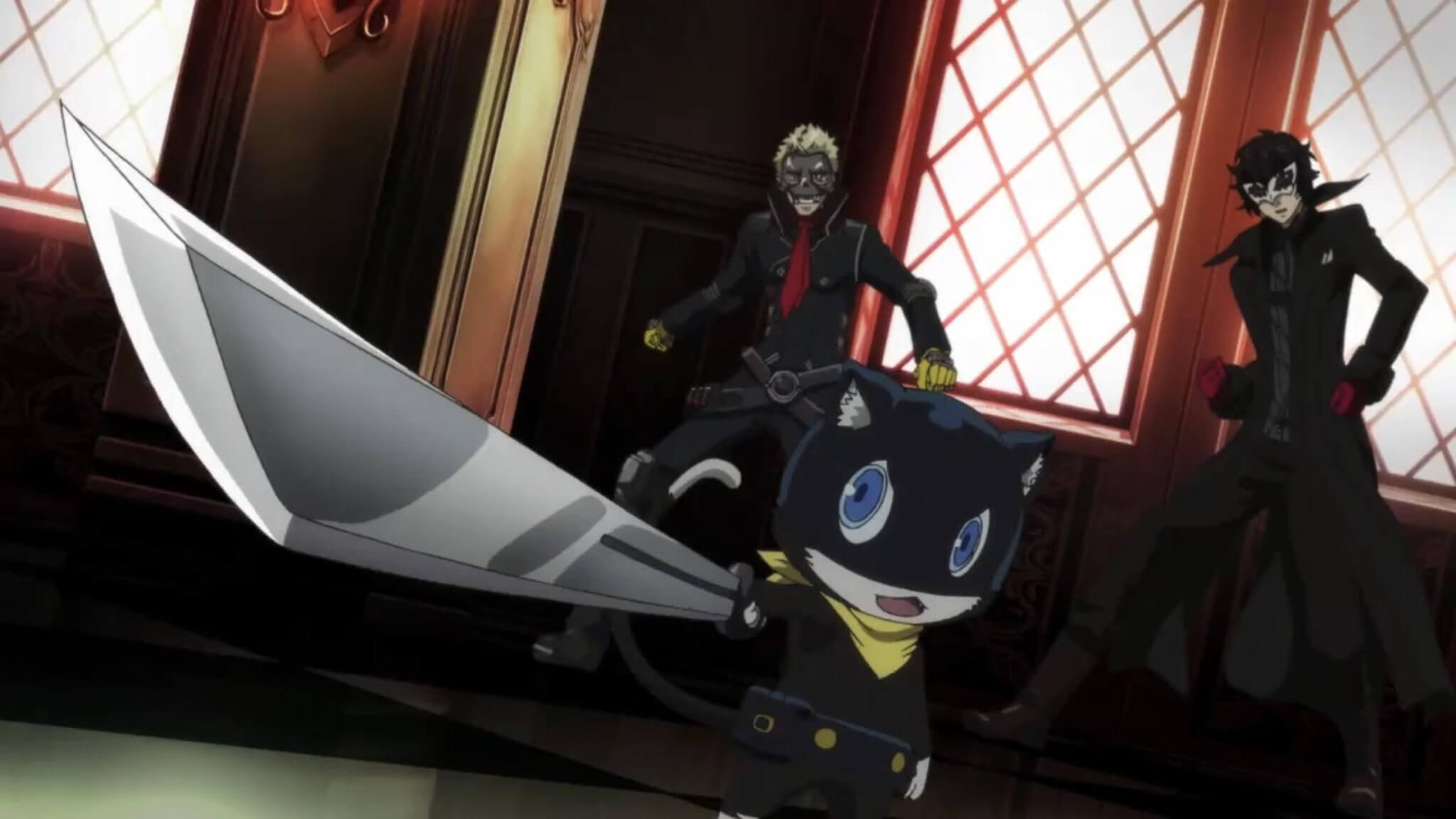 Persona 5 The Animation Morgana - Persona 5 The Animation - Primeiras Impressões