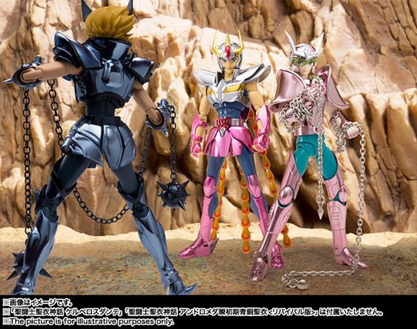Bandai anuncia Phoenix Ikki - Myth Cloth - Revival Edition Imagens