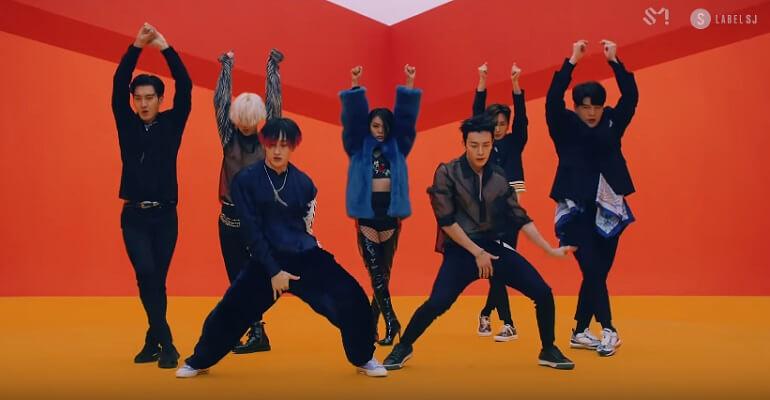 Super Junior integram Top de Vendas Latinas - Billboard lo siento   Super Junior - MV de Lo Siento Ultrapassa 1 Milhão de Likes