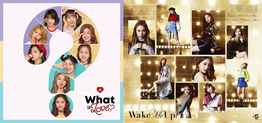 TWICE - Novo Recorde e Imagens para 3º Single Nipónico | record what is love | teaser pictures wake me up