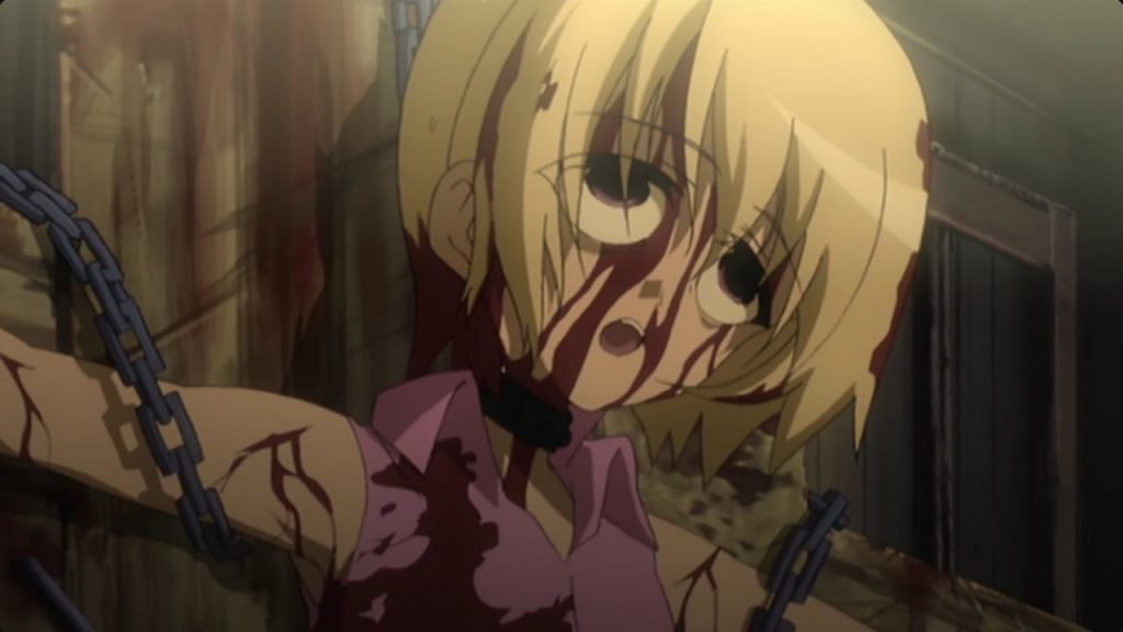 Top 20 Animes Mais Grotescos - Votação Japonesa higurashi