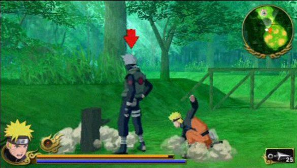 Naruto Shippuden: Legends - Akatsuki Rising - Análise PSP