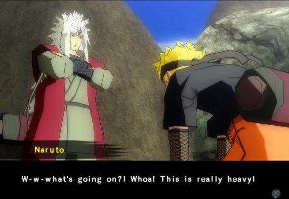 Naruto Shippuden Ultimate Ninja 4 - Gameplay PS2