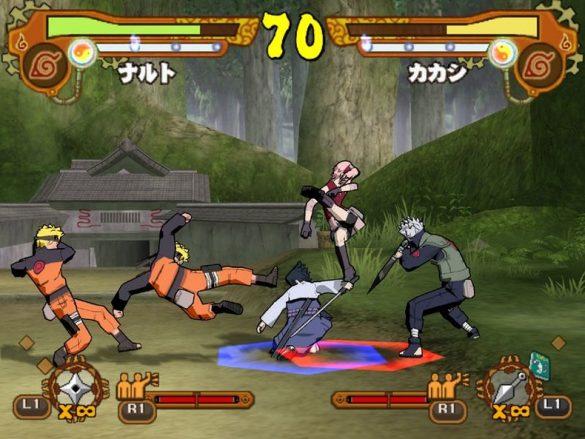 Naruto Shippuden Ultimate Ninja 5 - Análise Playstation 2