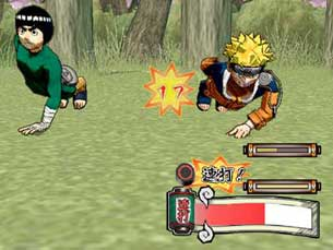 Naruto Ultimate Ninja 2 - Gameplay PS2