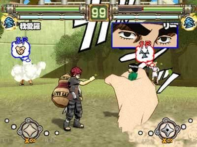 Naruto Ultimate Ninja 2 - Gameplay Playstation 2